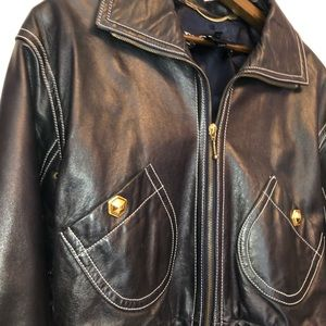 Trendy, Real Leather Jacket